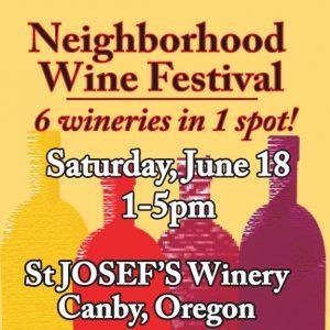 Neighborhood Wine Fest logo 2016 v square